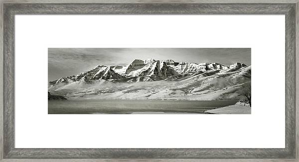 Timp Above Deer Creek Framed Print