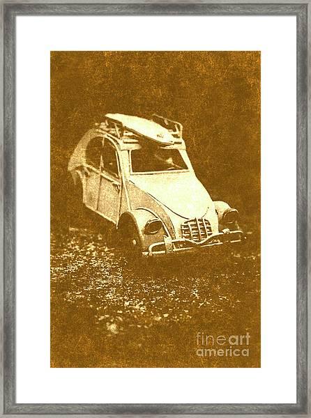 Tin Surf Adventure Framed Print