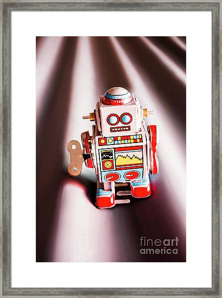 Tin Toys From 1980 Framed Print