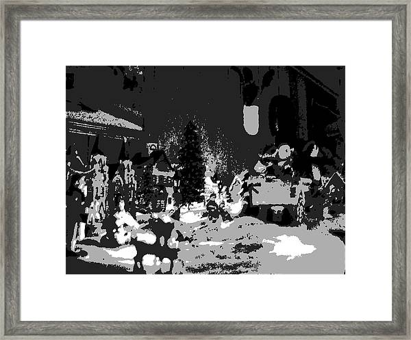 Tinsel Town Framed Print