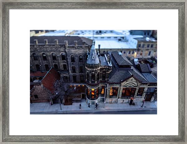 Tiny Pabst Castle Framed Print
