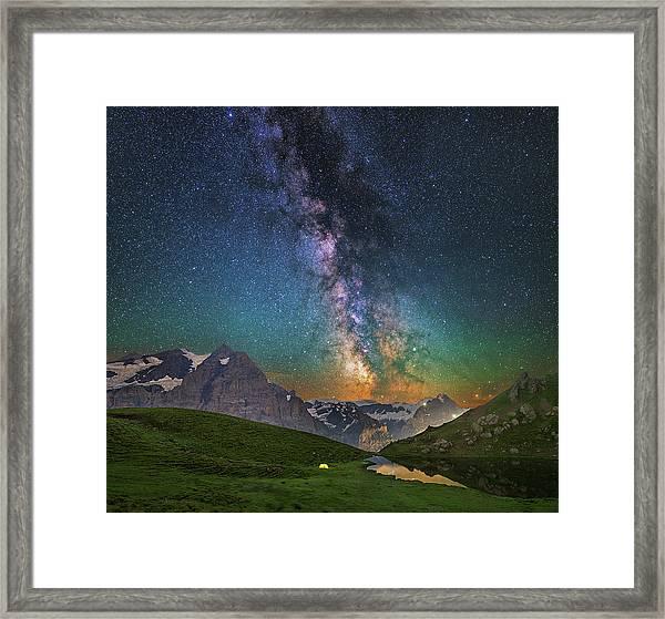 Tiny Framed Print
