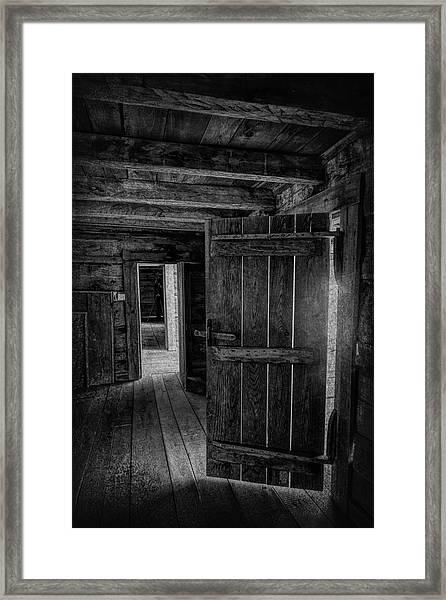 Tipton Cabin Award Winner Framed Print