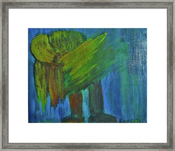 Tired Angel Framed Print