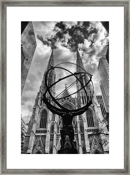 Titan Framed Print