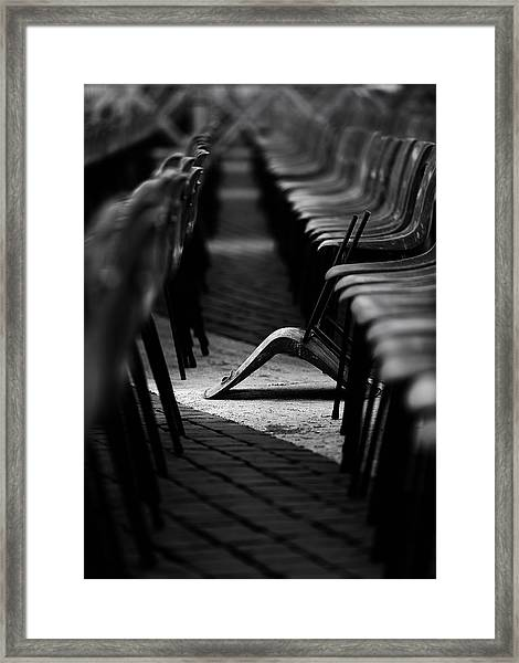 To Be Different Framed Print