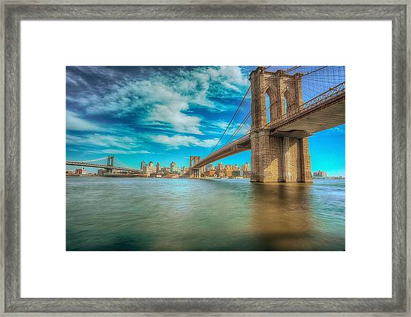 To Brooklyn And Back Framed Print