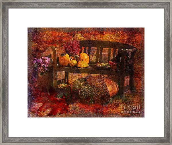 To Everything There Is A Season 2015 Framed Print