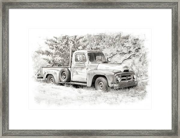 To Load Or Be Loaded Framed Print