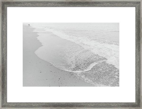 To The Horizon Framed Print
