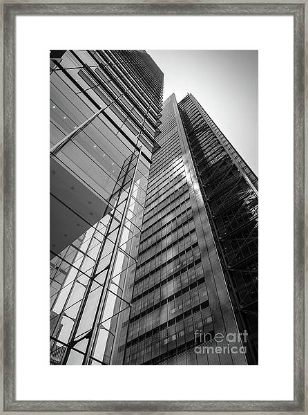 To The Top   -27870-bw Framed Print