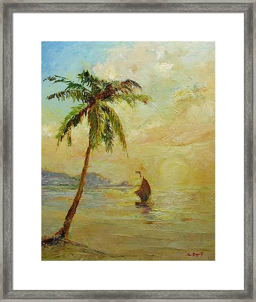 To The West Framed Print
