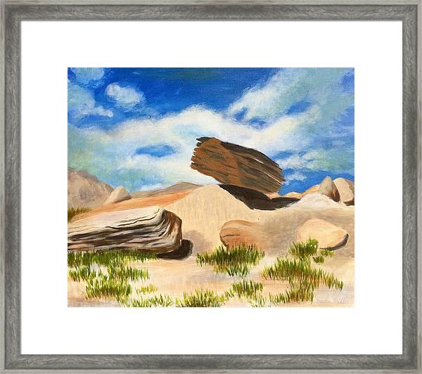 Toadstool Park Nebraska Framed Print
