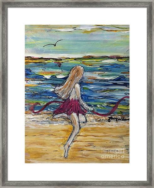 Today I Dance  Framed Print