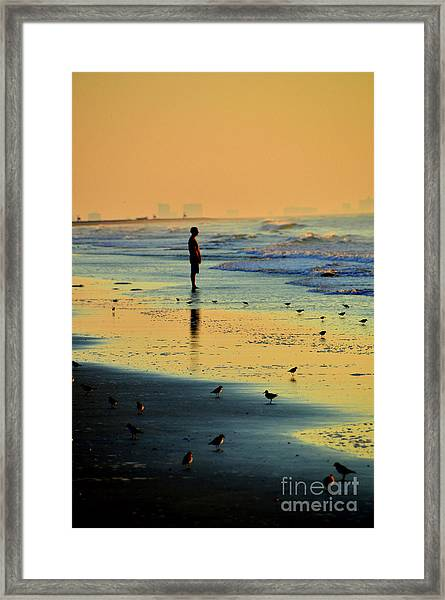 Today's The Day When Anything Is Possible Framed Print