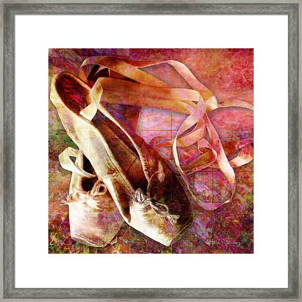 Toe Shoes Framed Print