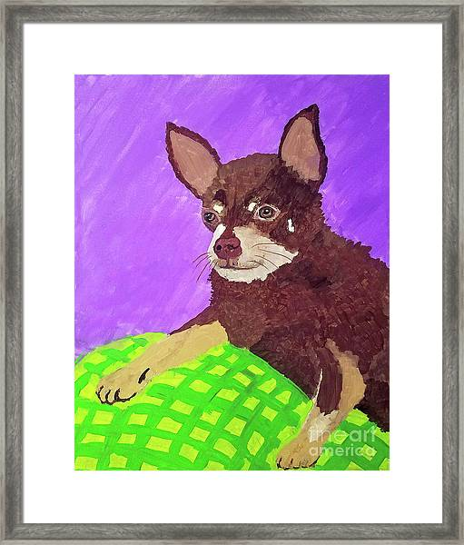 Token Date With Paint Mar 19 Framed Print