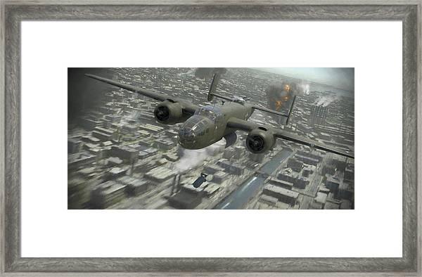 Tokyo Surprise - Painterly Framed Print
