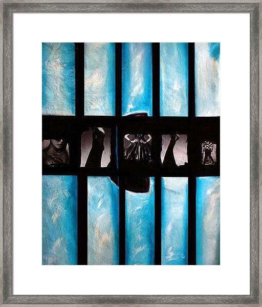 Tokyo-vogue Series Framed Print by Vel Verrept