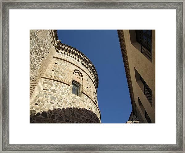 Toledo Castle II Framed Print