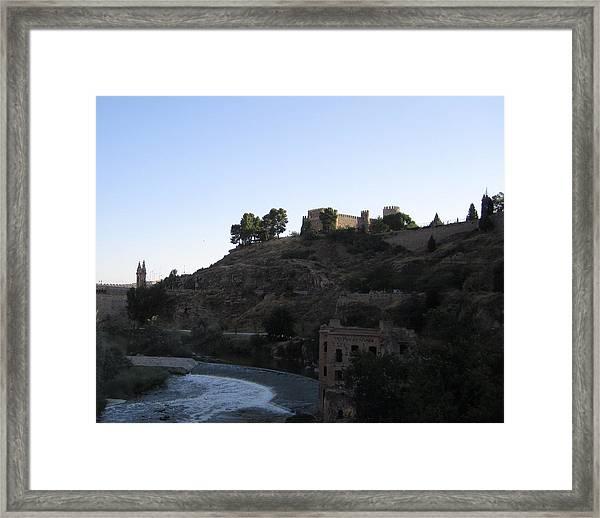 Toledo Castle Framed Print