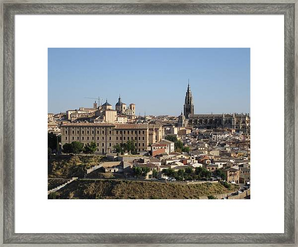 Toledo Cathedral Framed Print