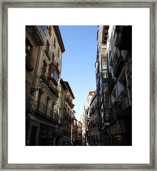 Toledo Cathedral View Framed Print