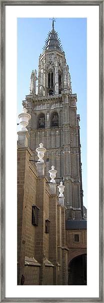 Toledo Church II Framed Print