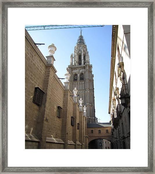Toledo Church Framed Print