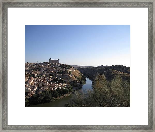Toledo Hillside Framed Print