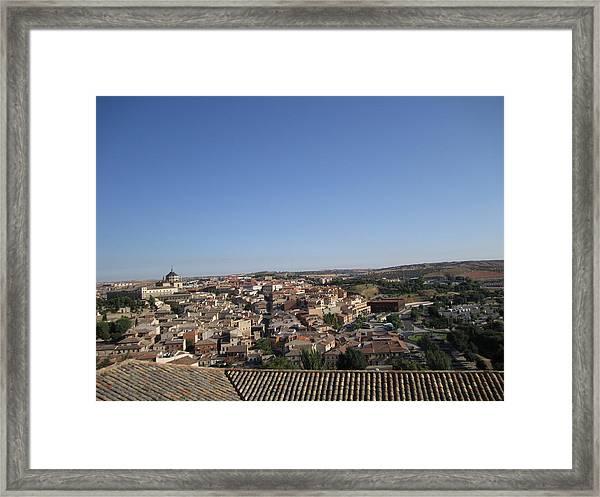 Toledo Homes Framed Print