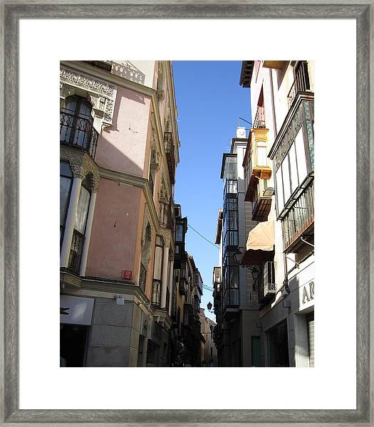 Toledo Side Street Framed Print