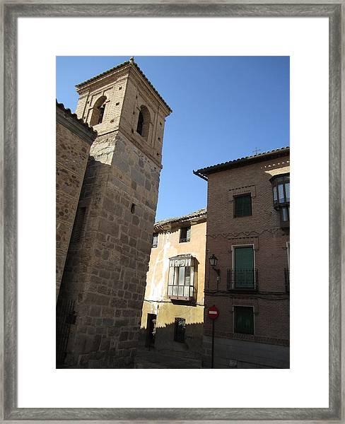 Toledo Vintage Buildings II Framed Print