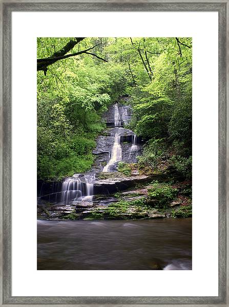 Tom Branch Falls Framed Print