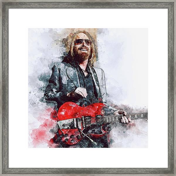 Tom Petty - 21 Framed Print