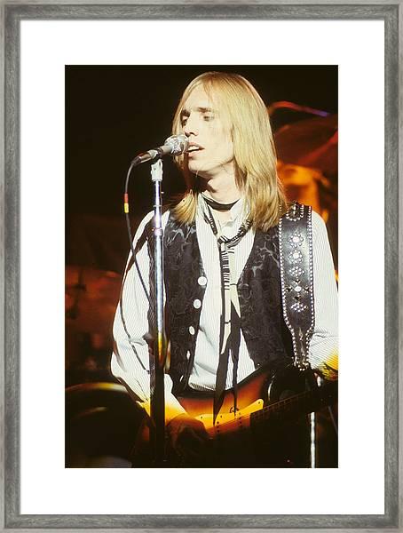 Tom Petty Framed Print