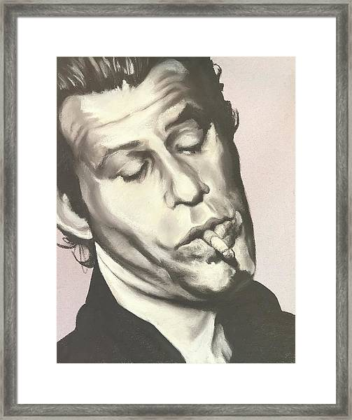 Tom Waits A Framed Print