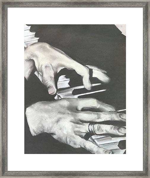 Tom Waits B Framed Print