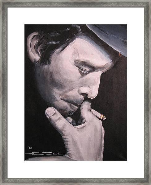 Tom Waits Two Framed Print
