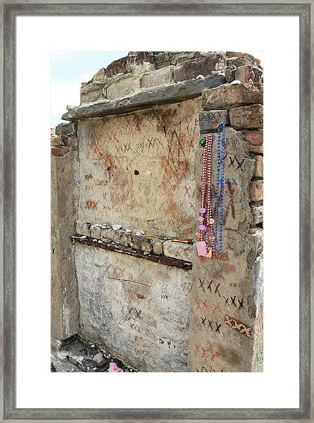 Tomb Of The Unknown Voodoo Priestess Framed Print