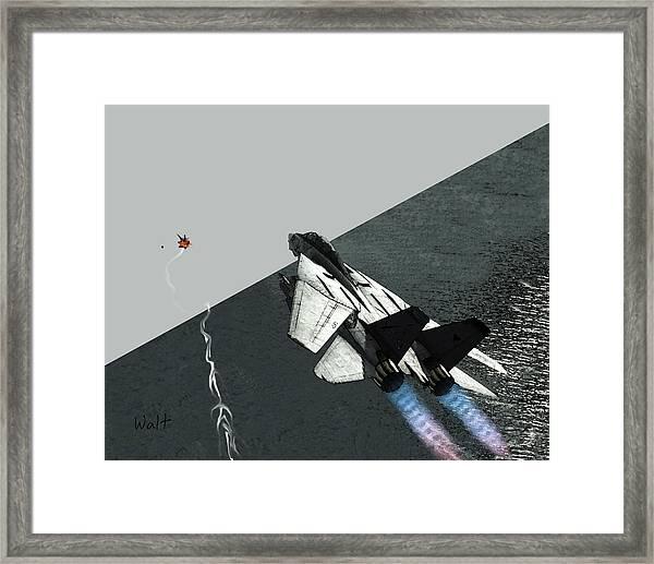 Tomcat Kill Framed Print