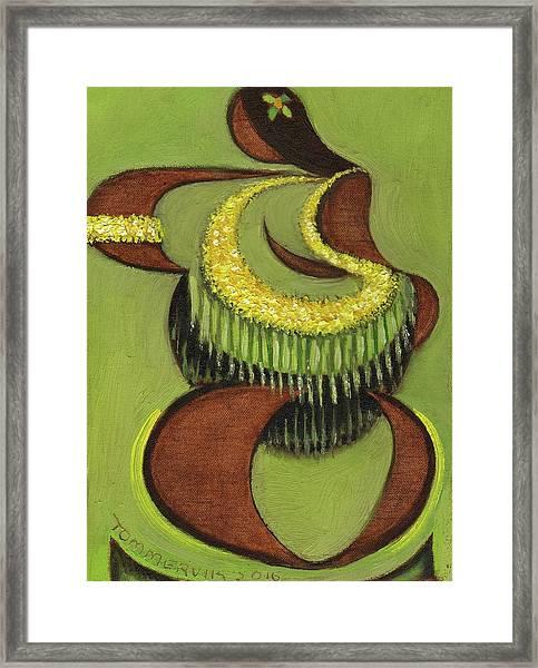 Tommervik Hula Dancer Hawaii Art Print Framed Print