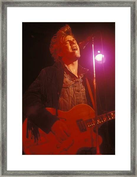 Tommy Conwell Framed Print