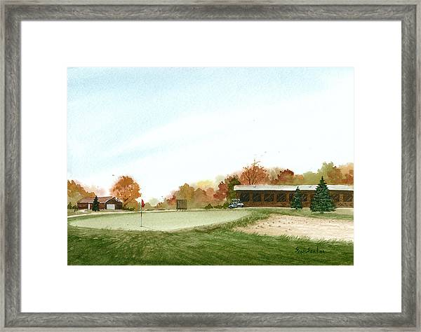 Tom's  Golf Course Framed Print