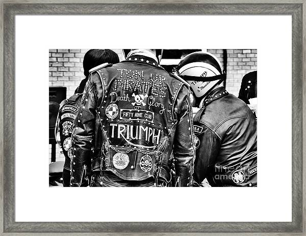 Ton Up Pirates Framed Print
