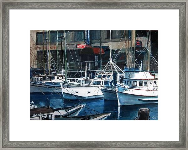 Tonia Framed Print