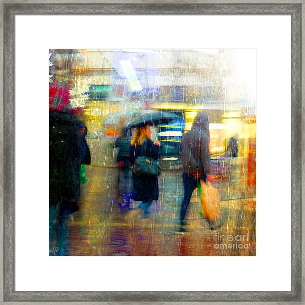 Too Warm To Snow Framed Print