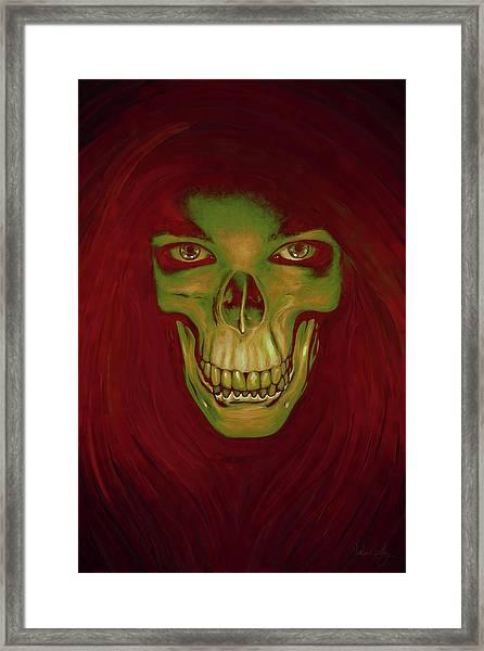 Toothy Grin Framed Print