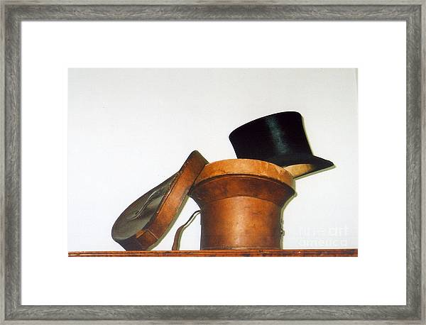 Top Hat Framed Print by Andrea Simon