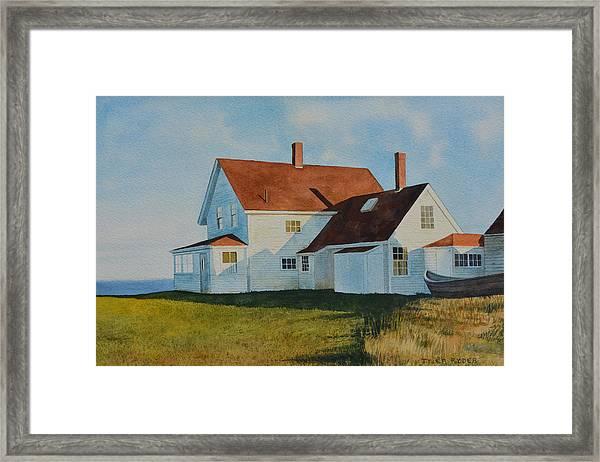 Top Of Monhegan Framed Print